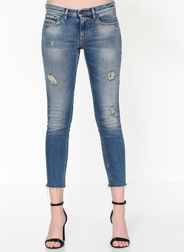 Calvin Klein Jean Pantolon | Skinny Ankle Mavi